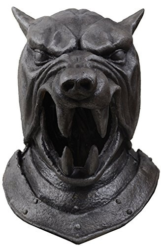 UHC Men's Game of Thrones The Hound Helmet Theme Party Halloween Costume Mask]()