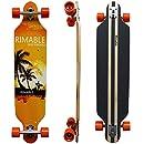 RIMABLE Drop-Through Longboard Surf