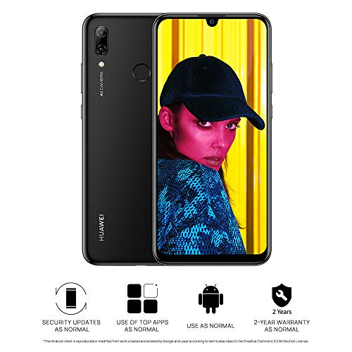 Huawei P Smart (2019) Pot-LX1 Single-SIM 64GB (GSM Only | No CDMA) Factory Unlocked 4G/LTE Smartphone (Midnight Black) - International Version