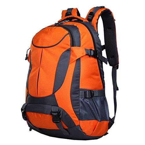 Xin Senderismo Mochila Montañismo Deportes Y Ocio Camping Viajes Excursiones Multi-funcional Mochila Al Aire Libre. Multicolor Orange