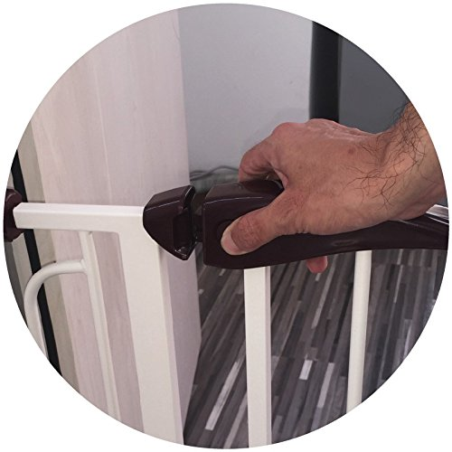 Fairy Baby Pressure Mount Easy Install Walk Thru Gate,Fit Spaces 68.9''-72.4'' Wide,29.9'' High by Fairy Baby (Image #5)