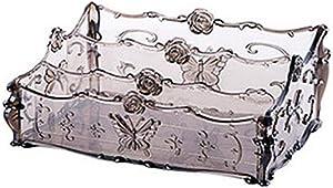 NUOBESTY Acrylic Desktop Organizer Clear Cosmetic Storage Jewelry Storage Case Display for Lipstick Makeup Palette