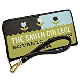Wallet Clutch US Gardens The Smith College Botanic Garden - MA with Removable Wristlet Strap Neonblond