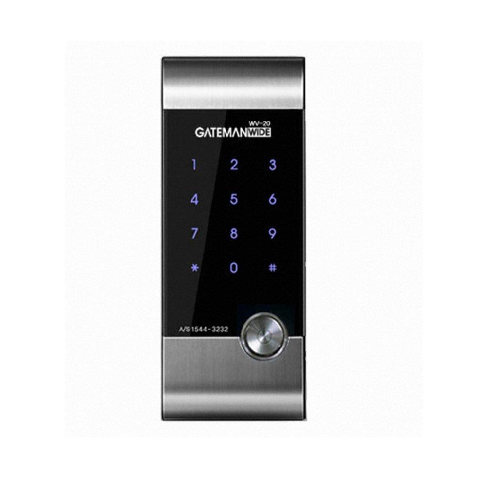 GATEMAN 門衛 WV20 セキュリティ監視ロック指紋タッチパネルパスワードロック防犯(並行輸入品) B06XH97RS2