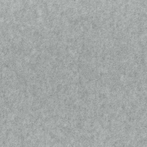 "Heather Gray Anti Pill Solid Fleece Fabric, 60"" Inches Wide – Sold By The (Wool Fleece Fabric)"
