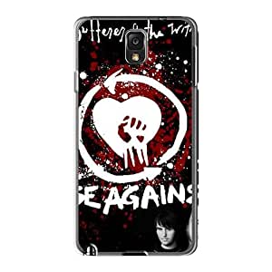 Excellent Cell-phone Hard Cover For Samsung Galaxy Note3 (Jgo18030mqTF) Provide Private Custom Beautiful Rise Against Series