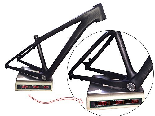 Fasteam 26er 16 '' 3K Matte Full Carbon Bicycle Frame MTB Frame with Bottom Bracket and Headset by Fasteam (Image #7)