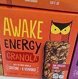Awake Energy Granola Bars Dark Chocolate Caramel 6oz Box