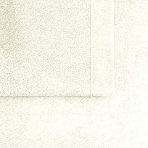 NEW Size King CuddlDuds Microfleece Fleece Sheet Set Tan Beige Khaki 4 Piece