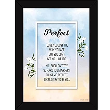 Buy Motivational Paintings with Frame | Inspirational Quotes Wall ...