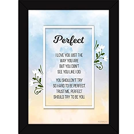 Buy Motivational Paintings With Frame Inspirational Quotes Wall