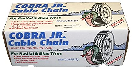 Quality Chain 1663 Cobra Light Truck Cable Chain