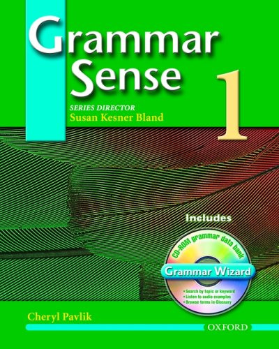 Grammar Sense 1 Student Book with Wizard CD-ROM