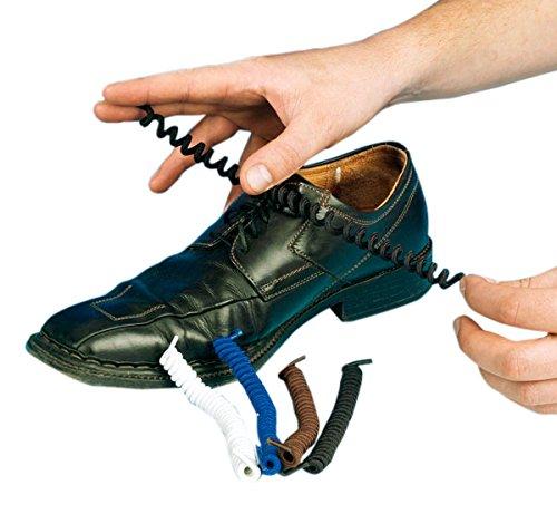 Was bedeuten blaue Schnürsenkel in normalen Schuhen (keine