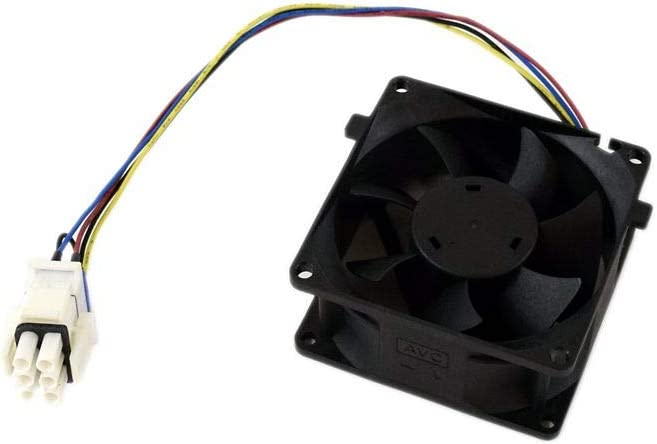 GE WR60X29099 Refrigerator Fresh Food Fan Motor Assembly Genuine Original Equipment Manufacturer (OEM) Part