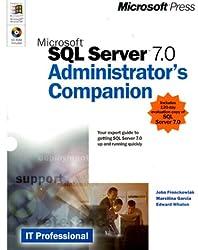 Microsoft SQL Server 7.0 Administrator's Companion