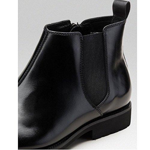 Pelle Stivali Cuoio all'Usura Scarpe Traspirante Stivaletti di Maschi Winered Martin Top Aumento Scarpe Oxford High Comfort Resistente Stivali di YRqv88