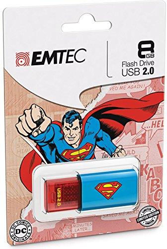 EMTEC Click Flash Drive Superman