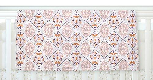 KESS InHouse Neelam Kaur Modern Reminisence White Pink Fleece Baby Blanket 40 x 30 [並行輸入品]   B077Z5Y9VY