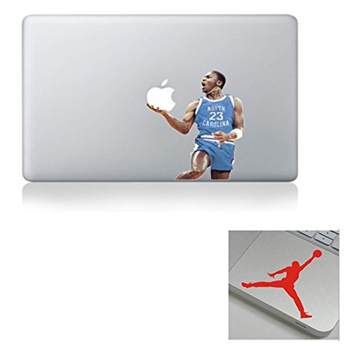 MJ Jordan Concord Unique Sticker Decals Vinyl Skin Cover for Macbook Computer Laptops 13 15 17 inch Computer