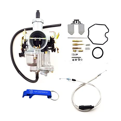 TC-Motor Keihin 30mm PZ30 Tuning Tuned Power Jet Accelerating Pump  Carburetor Carb Repair Kits Gas Throttle Cable For 200cc 250cc Engine Pit  Dirt Bike
