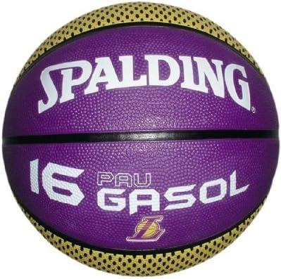 Spalding PAU Gasol - Balón de Baloncesto Multicolor nocolor Talla ...