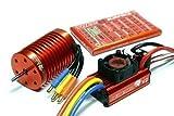 LEOPARD SKYRC 4370KV 9T Brushless Motor+60A ESC Speed Controller Combo ME720+SKYRC Full Version Apps Edition