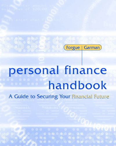 Personal Finance Handbook: A Guide to Securing Your Financial (Personal Finance Handbook)