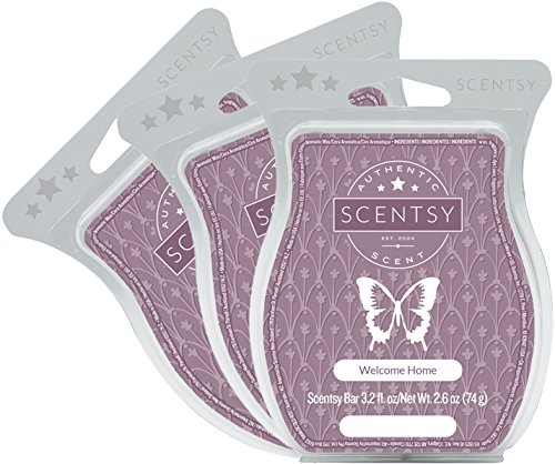 Scentsy, Welcome Home, Scentsy Bar, Wickless Candle Tart Warmer Wax 3.2 Oz Bar, 3-pack (3) from Scentsy Fragrance