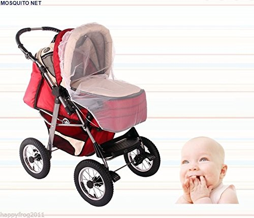 Baby Buggy Pram Pushchair Protector Fly Mesh Mosquito Net Midge Insect Bug EU Womar