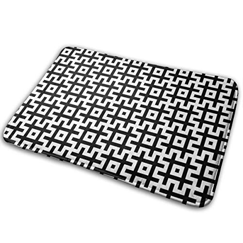 DIDIDI Black and White Hashtags Sign Symbol Throw Area Ground Mat Accent Floor Party Outside Set Restroom Kitchen Bathroom Door Welcome Decor Entryway Rug Sign Celebrate Decorations Ornament