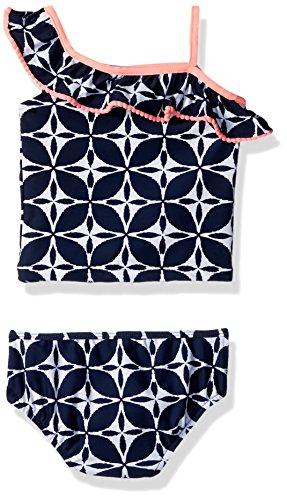 Carter's Baby Girls' Infant One Shoulder Tankini Swimsuit Set
