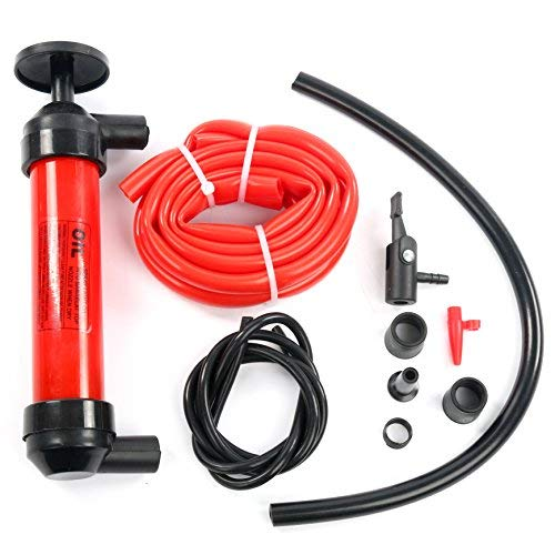 - YaeTek Liquid Transfer/Siphon Hand Pump - Manual Plastic Sucker Pump