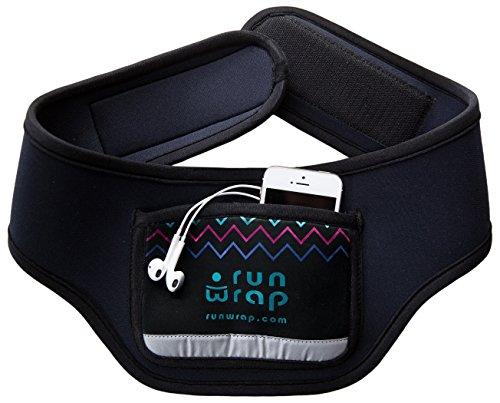 RunWrap Neoprene Belt with Rear Pocket, Black, Medium Review