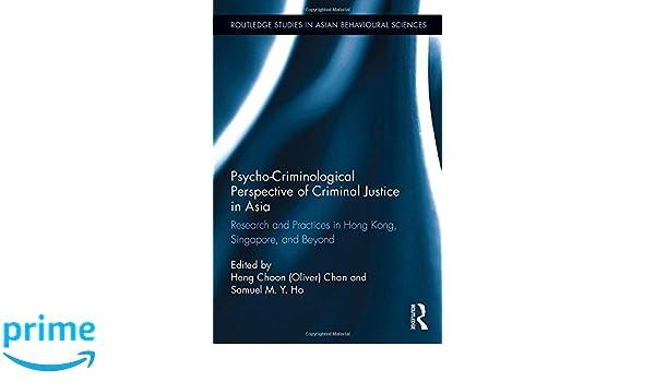 subareas of criminology