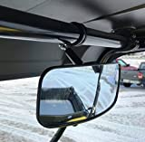 "DELUXE 12"" wide X 4.5"" tall Rear View Mirror fits John Deere 625i, 825i,RSX850i, HPX, XUV, 855D, XUV550... UTVs"