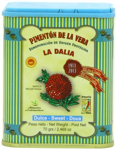 (La Dalia Sweet Smoked Paprika from Spain, 2.469 Oz)
