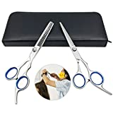 "Hairdressing scissors 6"" Thinning Scissors Set Salon Hair Cutting Tool Kits"