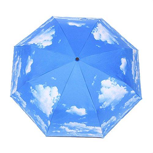 Owfeel Travel Umbrella Parasol Umbrella Sunblock UV(Ultraviolet) Block...