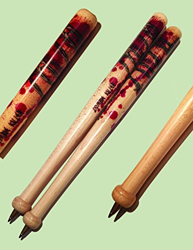 Walking Baseball (McArthur Designs Baseball Bat Zombie Pens (Qty.2) Negan Walking Dead Lucille)