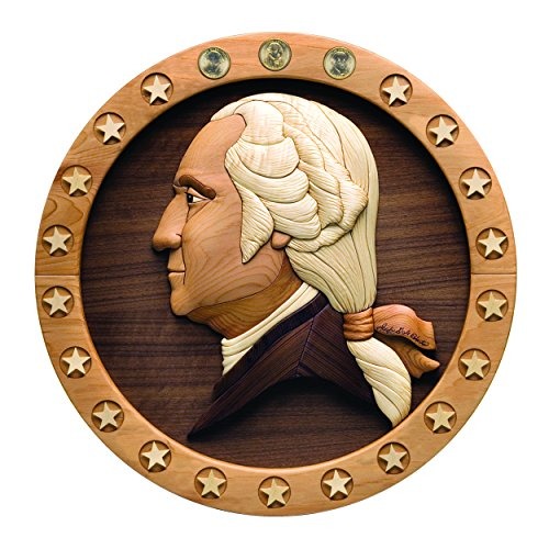 UPC 844788000032, Woodworking Project Paper Plan to Build Intarsia Presidential Dollar Plaque