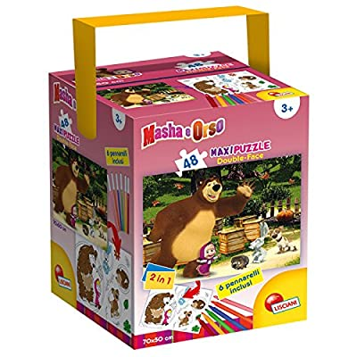 Lisciani Giochi Masha Smile Play Puzzle Fustino Maxi 48 Pezzi F08 Li 51281