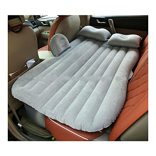 Gray Car Self-drive Air Bed Sleeping Seat Inflatable Back Seat Mattress + Pillow/Pump from Unknown