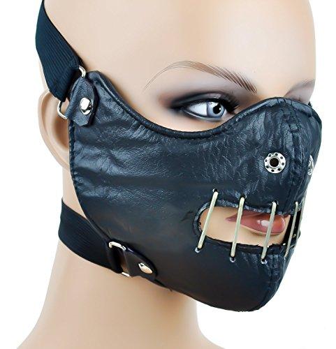 Hannibal Lector Motorcycle Mask Horror Halloween Cosplay -