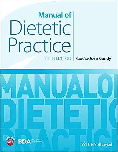 Book Manual of Dietetic Practice