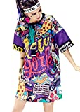 RwalkinZ Hip Hop Clothes For Girls Teenager Fashion Clothes Graffiti Dress Street Sport