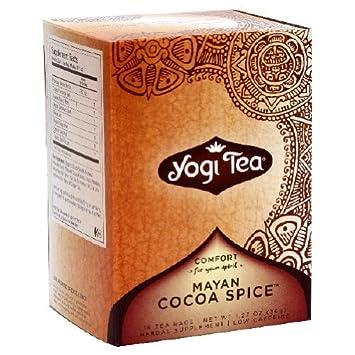 Amazon.com  Yogi Mayan Cocoa Spice - 16 Tea Bags  Health   Personal Care 186e224609ddc