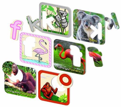 (Ingenio Zafari Animal Alphabet Puzzle (English And Spanish))