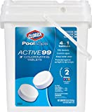 Clorox Pool&Spa Active 99 3-Inch Chlorinating Tablets, 35-Pound Chlorine