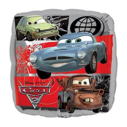 Amazon Com Disney Cars 2 Birthday Party Supplies Mylar Balloon